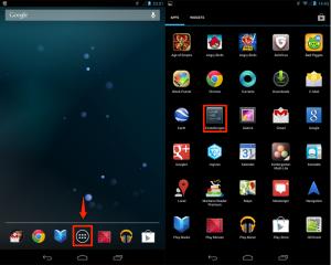 Android_Einstellungen