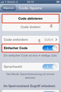 iOS_Codesperre_A1